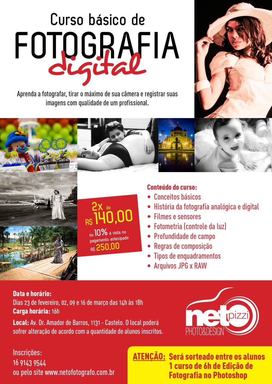 Curso basico de fotografia digital