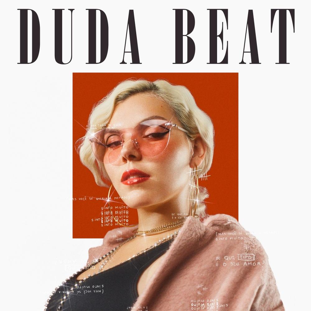 Duda Beat - Sinto Muito - Capa
