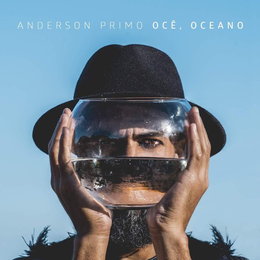 Capa do EP Ocê, Oceano de Anderson Primo
